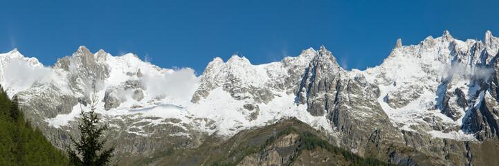 Catena del Monte Bianco -  Panoramica