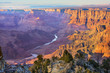 Leinwanddruck Bild - Majestic Vista of the Grand Canyon at Dusk