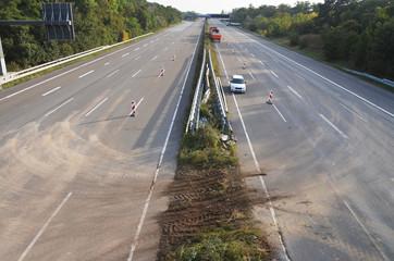 Autobahnarbeiten