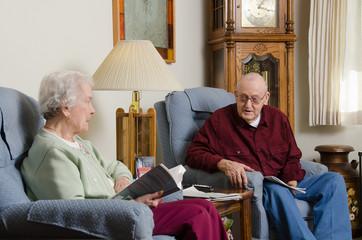 Elderly discussion