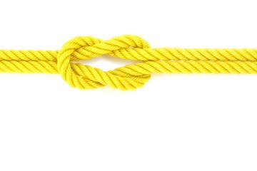 nylon ropes isolated on white background