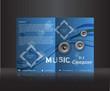 Music d.j. company flyer