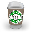 Caffeine Coffee Plastic Cup Drink Drive-Thru To-Go