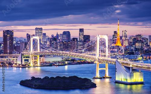 Zdjęcia na płótnie, fototapety na wymiar, obrazy na ścianę : Tokyo Bay