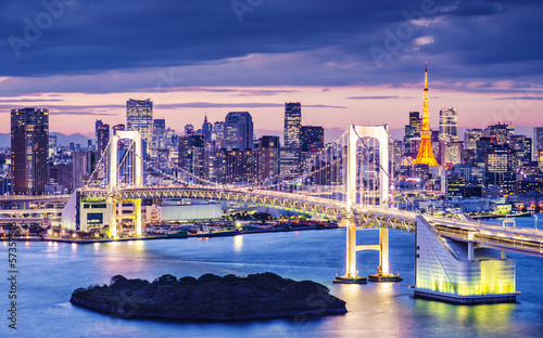 Fotobehang Tokyo Tokyo Bay