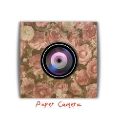 Paper camera spy cam