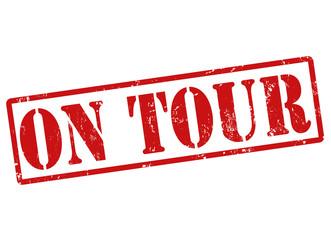 On tour stamp