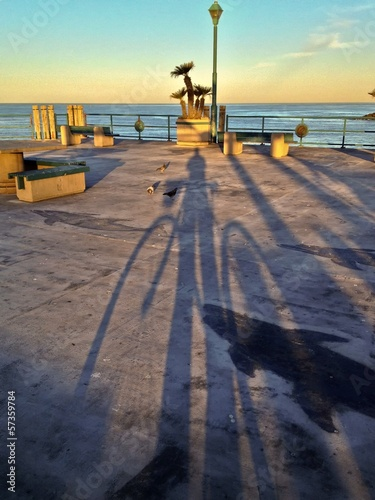 Early Morning Redondo Beach Pier Los Angeles California USA