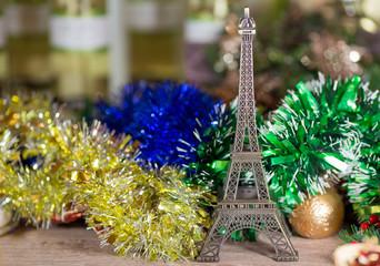 New Year Eiffel Tower