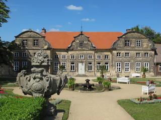 Kleines Schloss in Blankenburg(Harz) mit Barockgarten