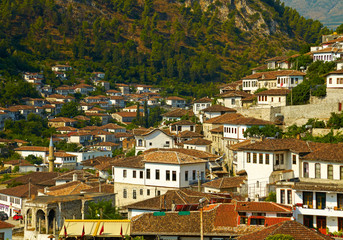 Old town of Berat, Albania