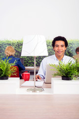 Confident Environmentalist In Office