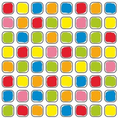 Colored squares texture