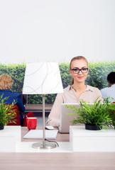 Beautiful Environmentalist In Office