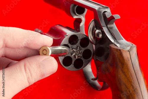 Russian roulette concept - 57365553