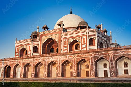 Spoed canvasdoek 2cm dik Delhi Humayuns Tomb