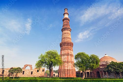 Fotobehang Delhi Qutub Minar