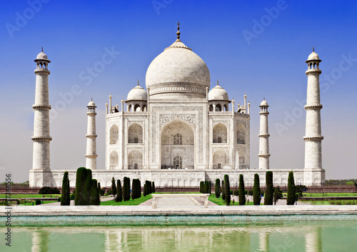 Spoed canvasdoek 2cm dik Delhi Taj Mahal, Agra