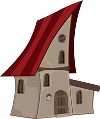 Small house cartoon