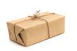 Leinwandbild Motiv parcels box