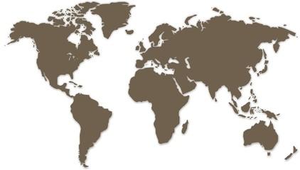 carte du monde