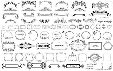 Vintage frames and heading for design