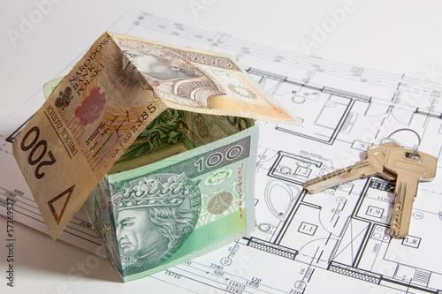Dom z pieniędzy