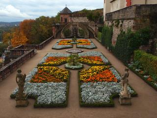 Fürstengarten auf Festung Marienberg