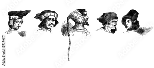 Medieval Mode - Head Dressing : Men - 5