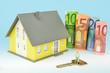 Haus, Geld und Schlüssel