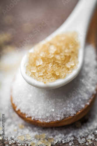 refined sugar and cane sugar