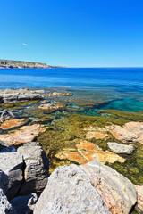 Sardinia - shore in San Pietro island