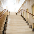 Leinwanddruck Bild - marble stairs