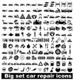 Big set car repair icons