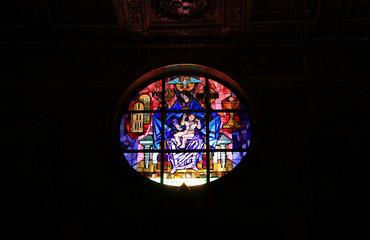 Rom, Kirchenfenster von Santa Maria Maggiore
