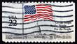 Postage stamp USA 1985 Flag over Capitol Dome