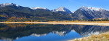Twin lakes recreation area in Colorado