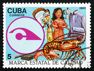 Postage stamp Cuba 1983 State Quality Seal