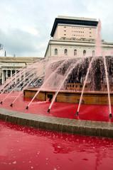 Fountain de ferrari genoa