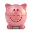 Piggy Bank. Clipping Path Included