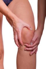 Frauen mit Knieschmerzen