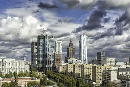 Warsaw downtown - 57377769