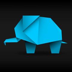 słoń origami