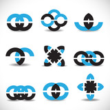 Business Icons Set - Isolated On White Background