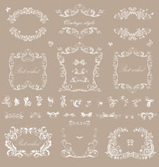 Wedding frames for your design
