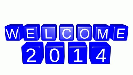 Welcome 2014 Animation
