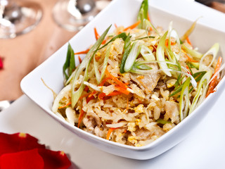 Asian food - Pork fried rice, side order