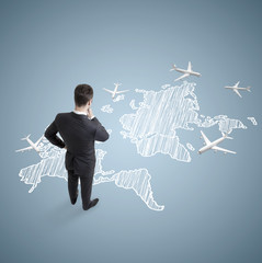 scheme of international flights