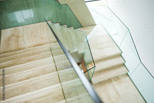 Foto op Canvas Trappen marble stairs