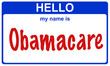 hello my name obamacare